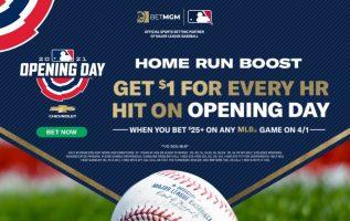 MLB Opening Day Bonus