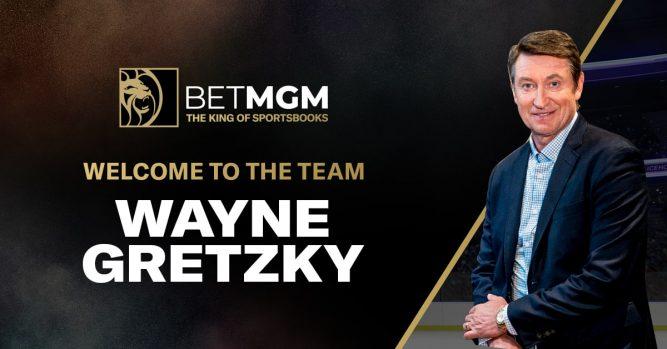 Wayne Gretzky BetMGM Ambassador